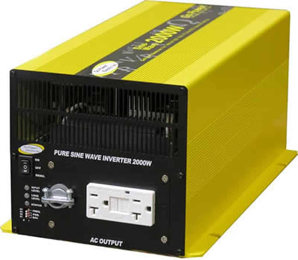 2000W Pure Sine Wave Inverter by Go Power